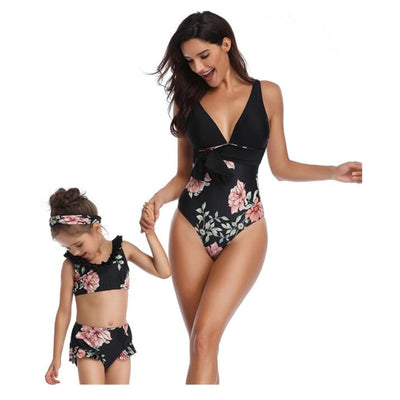 Shauna Mom Daughter Matching Swimsuit