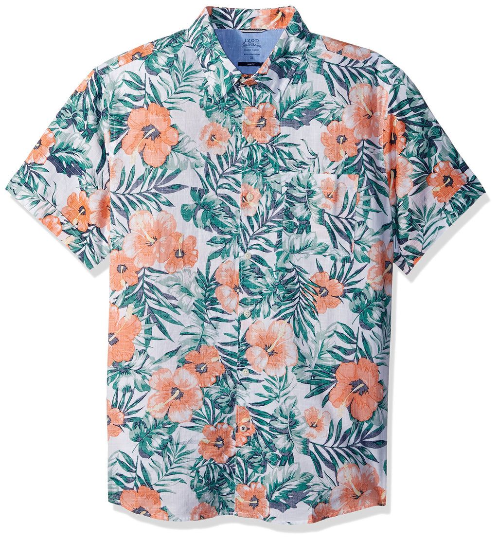 Camisa Hawaiian Flower Saltwater
