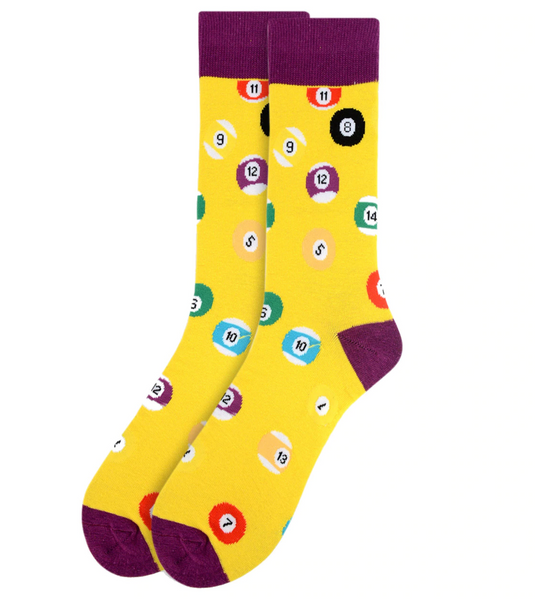 Sports Fun Crew Socks