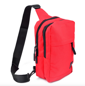 Red Crossbody Sling Bag
