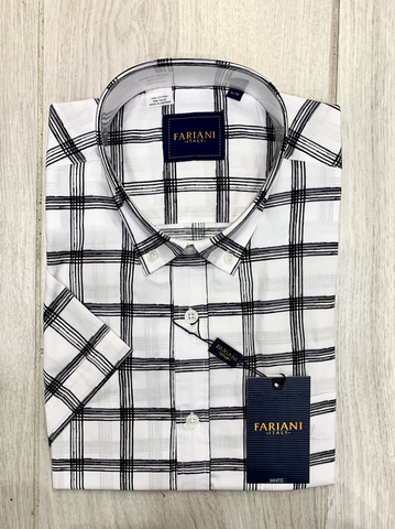 Fariani White Short Sleeve Shirt