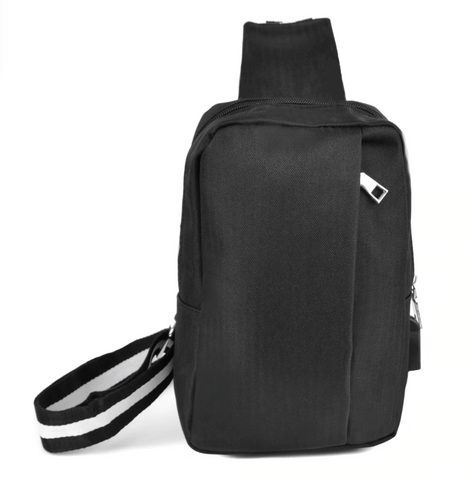 Crossbody Shoulder Bag with USB Charging Port