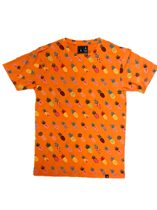 Orange Pineapple T-Shirt