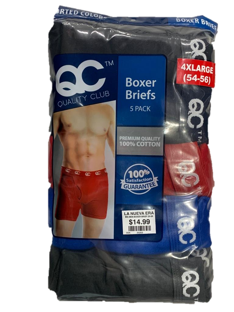 5-Pack Boxer Brief Big & Tall