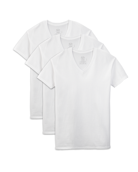 Men's V-Neck  Shirt (3 Pack)