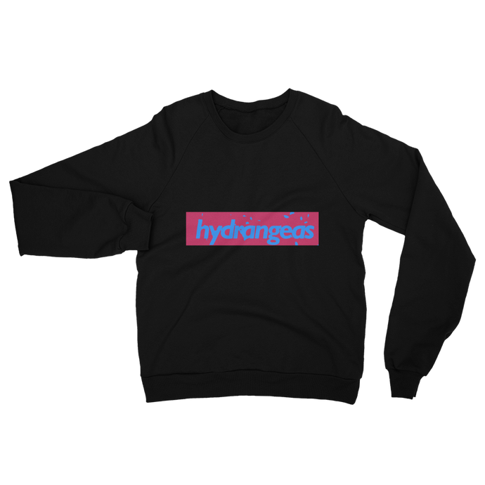 Hydrangeas California Fleece Sweatshirt