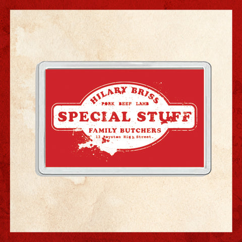 Special Stuff Fridge Magnet