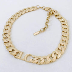 Chunky Gold Personalised Chain Choker