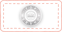Top of Webshop Silver Award Winner
