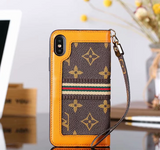 New leather wallet iPhone case for iPhone Xs/XR/Xs Max 7/8/6 plus/7 plus/8 plus 6/6s L026