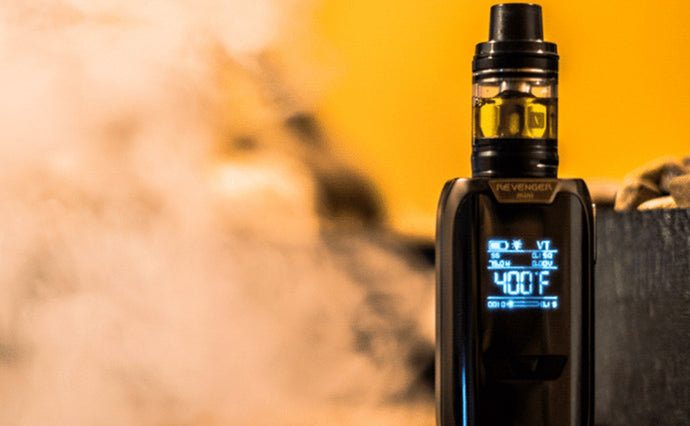 Why isn't temperature control working on my e-cigarette device?