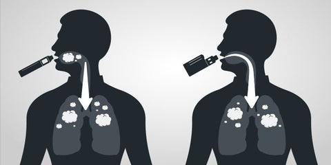 Direct to Lung vs Mouth to Lung vaping explained
