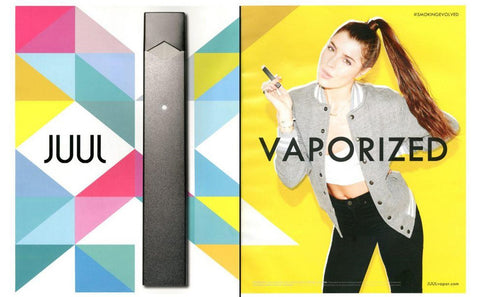 juul advert aimed at kids