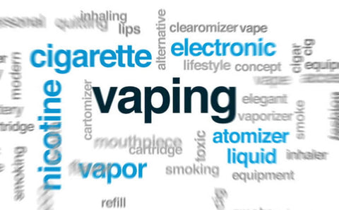 Vaping terms and acronyms