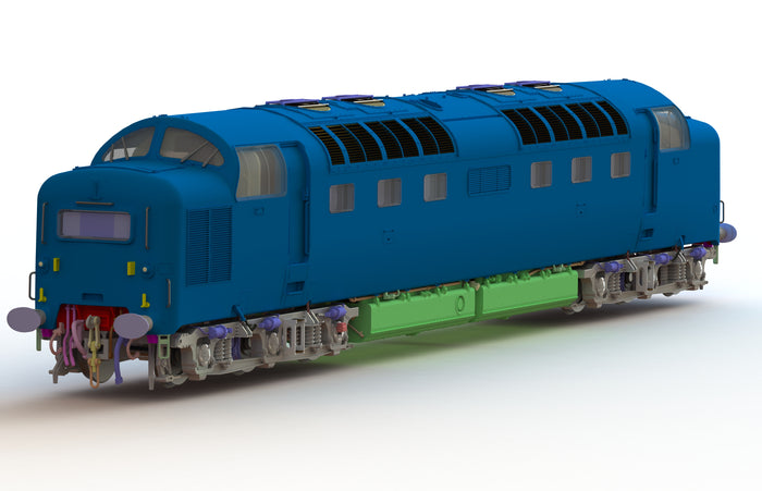 Class 55 Deltic Progress Update