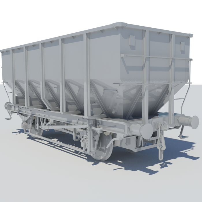 Accurascale announce 4mm Scale HUO Coal Hopper Wagon