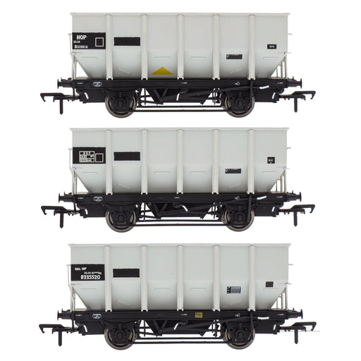 BR 24.5T HOP24/HUO Coal Hopper - Grey pre TOPS- Pack N
