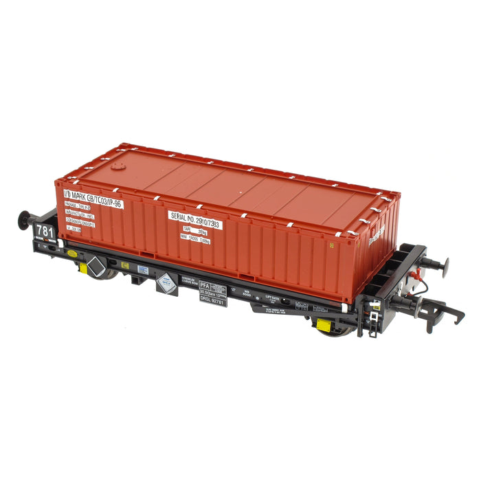 PFA - DRS LLNW - Nuclear Half Height Container O
