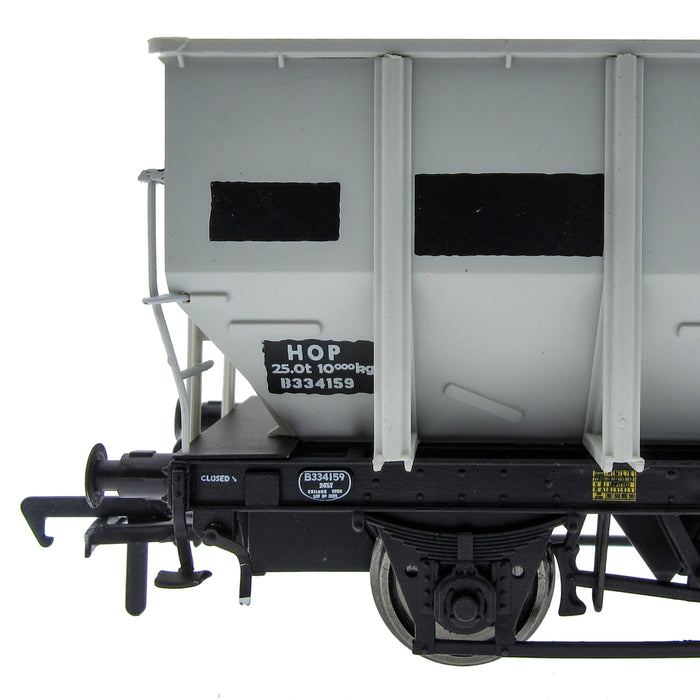BR 24.5T HOP24/HUO Coal Hopper - Grey pre TOPS- Pack O