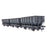 BR 24.5T HOP24/HUO Coal Hopper - Dark Grey -  NCB / Internal User - Pack L