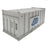 Pack of 3 Gypsum 20' Containers - White Containers
