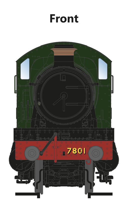 7801 – 'Anthony Manor' GWR 7800