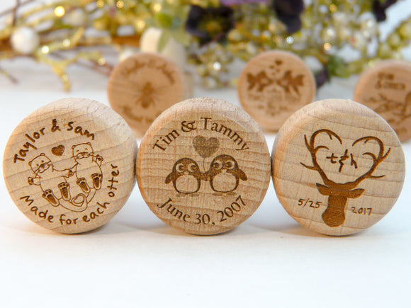 Engraved Wine Stoppers
