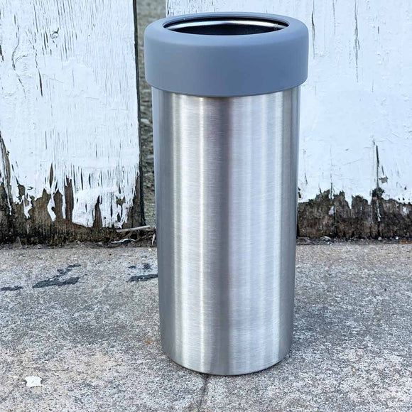 Skinny 12 oz Stainless Steel Beverage Holder for Can / Bottle - Insulated