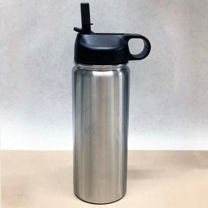 18 oz Sport Bottle with Straw - Stainless Steel Insulated Blank Tumblers