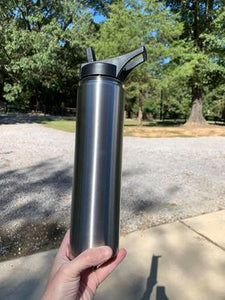 CLEARANCE - 25 oz Hydro Sport Bottle - Stainless Steel Insulated