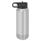 30 oz SUBLIMATION Stainless Steel Blank Insulated Sport Water Bottle Silver Polar Camel
