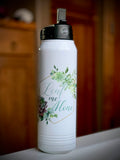 32 oz SUBLIMATION Stainless Steel Blank Insulated Sport Water Bottle