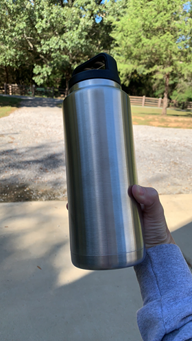 CLEARANCE - 36 oz wide mouth bottles - Stainless Steel Insulated