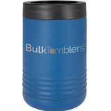 Promo Personalized Beverage Holder for Can / Bottle w Logo Laser Engraved on Insulated Stainless Steel