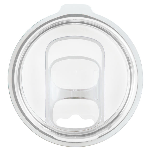 Replacement Spill-Resistant Tumbler Sliding Lid - Slider Fits 12 oz and 16 oz Wine Tumblers