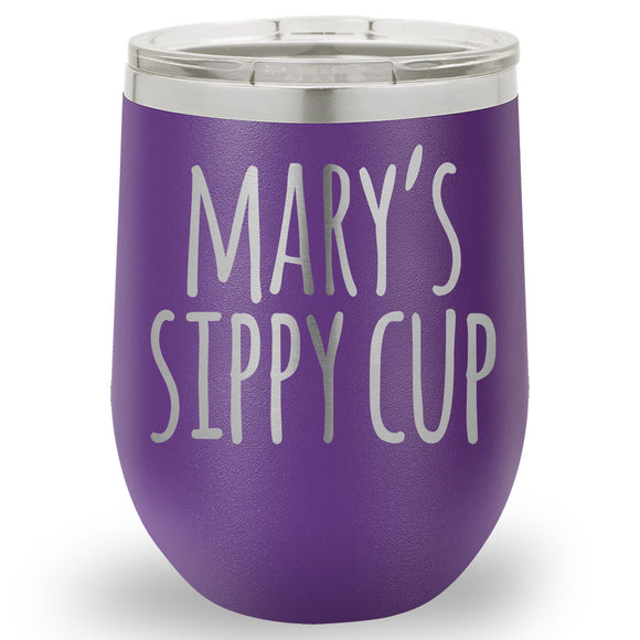 Insulated Personalized Name Tumbler - Choose your Style