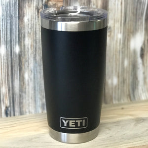 Fuh-Cup™ Tumblers - Yeti™ 20 oz with Open Mouth Lid