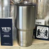 Fuh-cup™ Tumblers - Yeti™ 30 oz with Open Mouth Lid