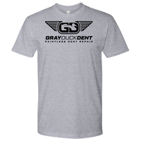 Black Gray Duck Dent T-shirt