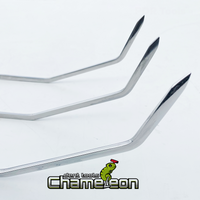 Chameleon Double Bend Sharp Tip Fixed Handle 36""