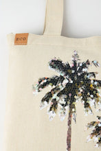 Palm Tree Canvas Tote, Eco-Friendly