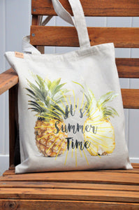 Summer Canvas Tote, Eco-friendly