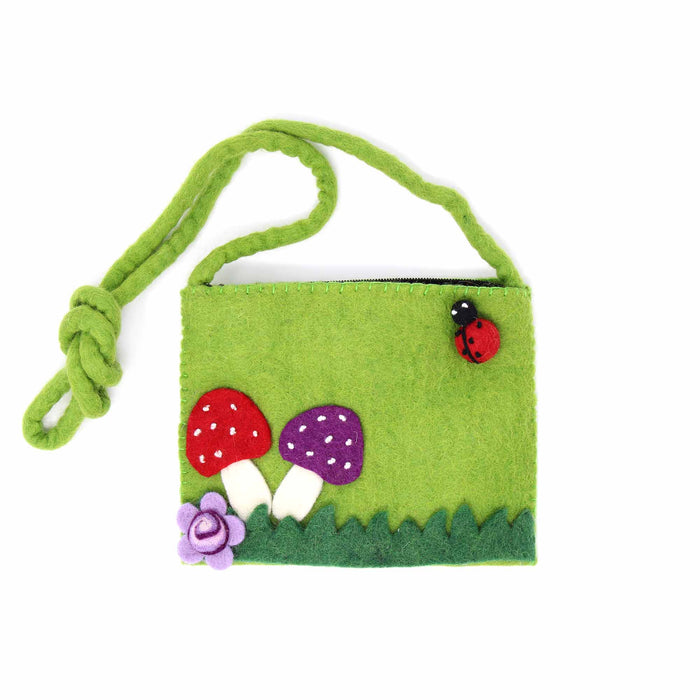 Felt Mushroom Purse - Global Groove (P)