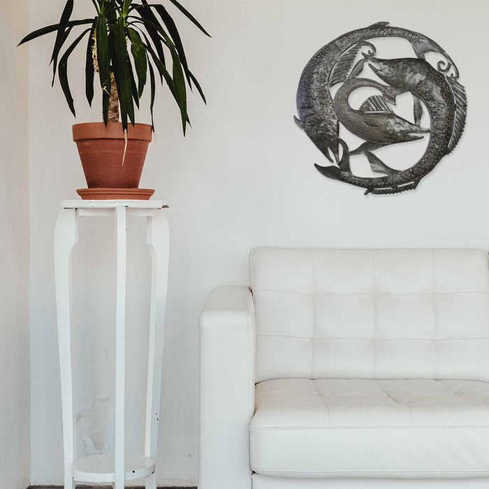 Swordfish Metal Wall Art - Croix des Bouquets