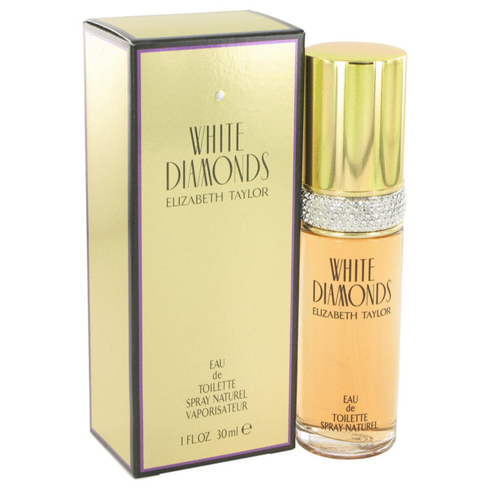White Diamonds By Elizabeth Taylor Eau De Toilette Spray 1 Oz For Women