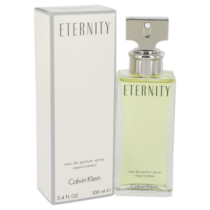 Eternity By Calvin Klein Eau De Parfum Spray 3.4 Oz For Women