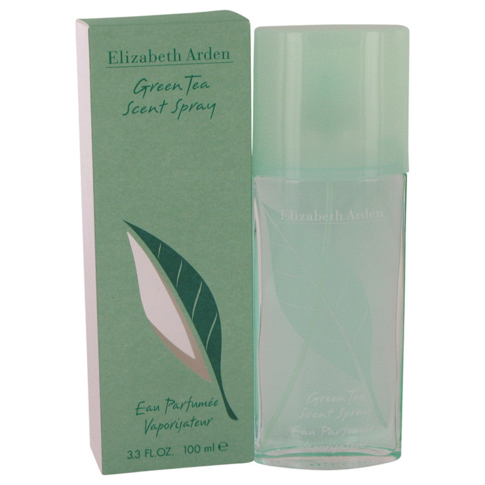 Green Tea By Elizabeth Arden Eau Parfumee Scent Spray 3.4 Oz For Women
