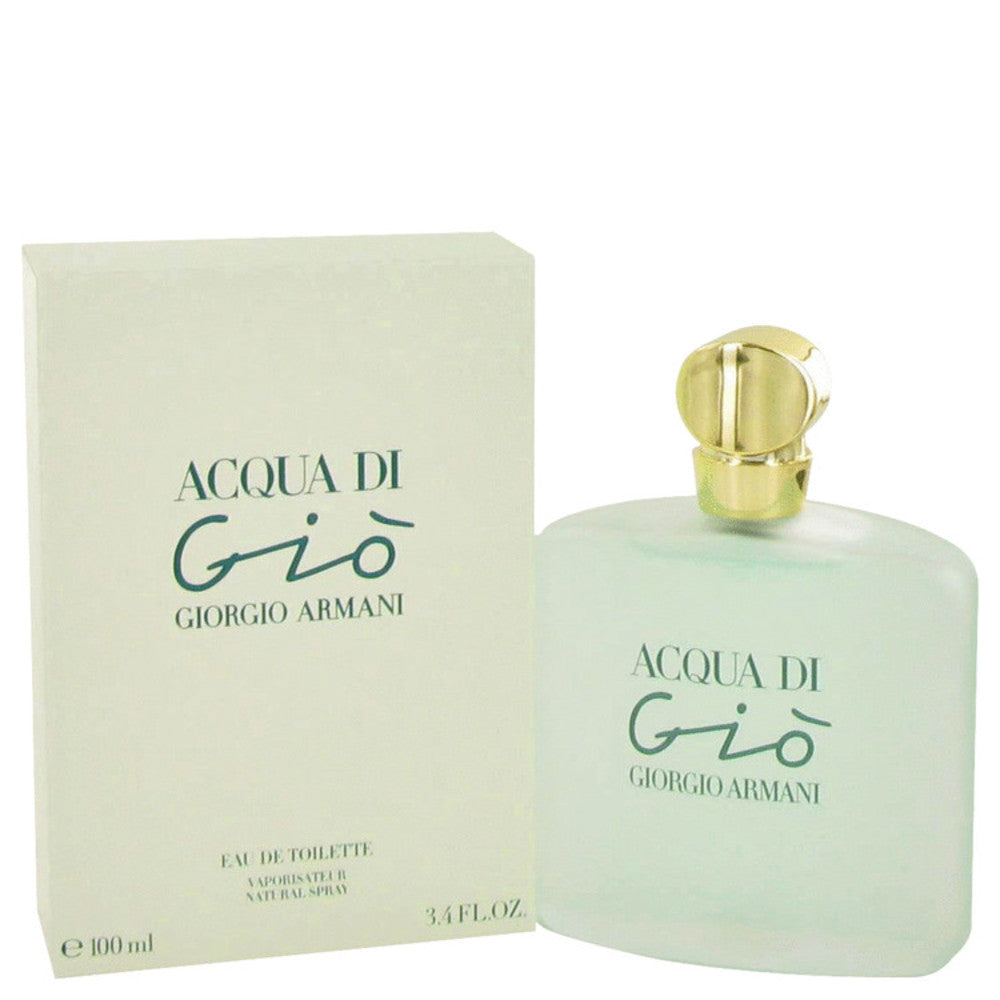 Acqua Di Gio By Giorgio Armani Eau De Toilette Spray 3.3 Oz For Women