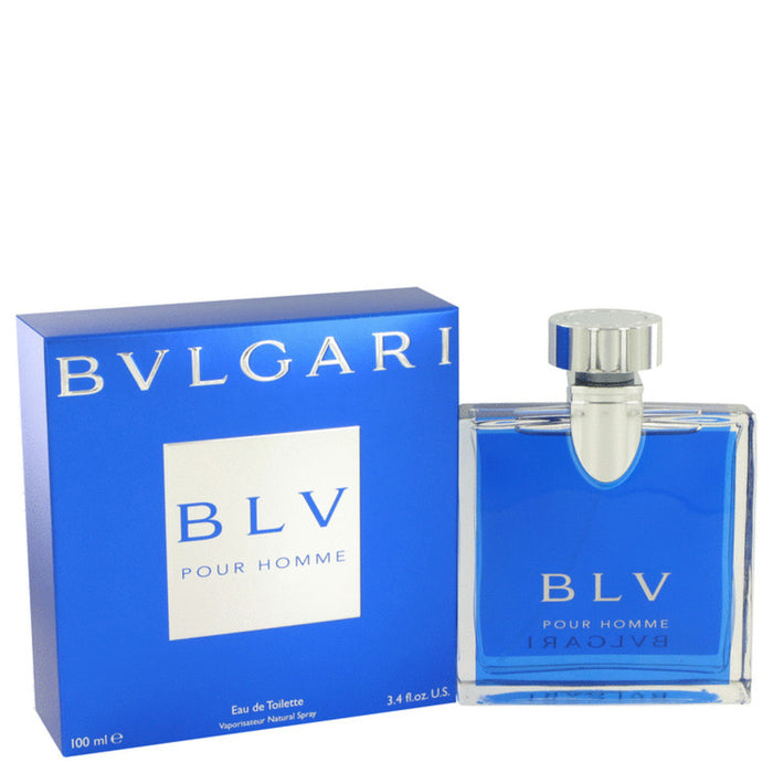 Bvlgari Blv By Bvlgari Eau De Toilette Spray 3.4 Oz For Men