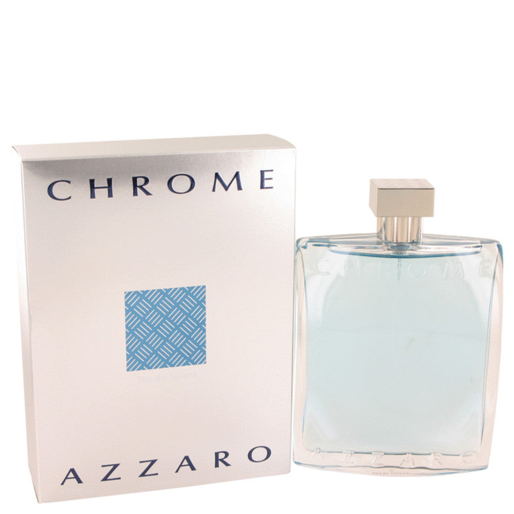 Chrome By Azzaro Eau De Toilette Spray 6.8 Oz For Men